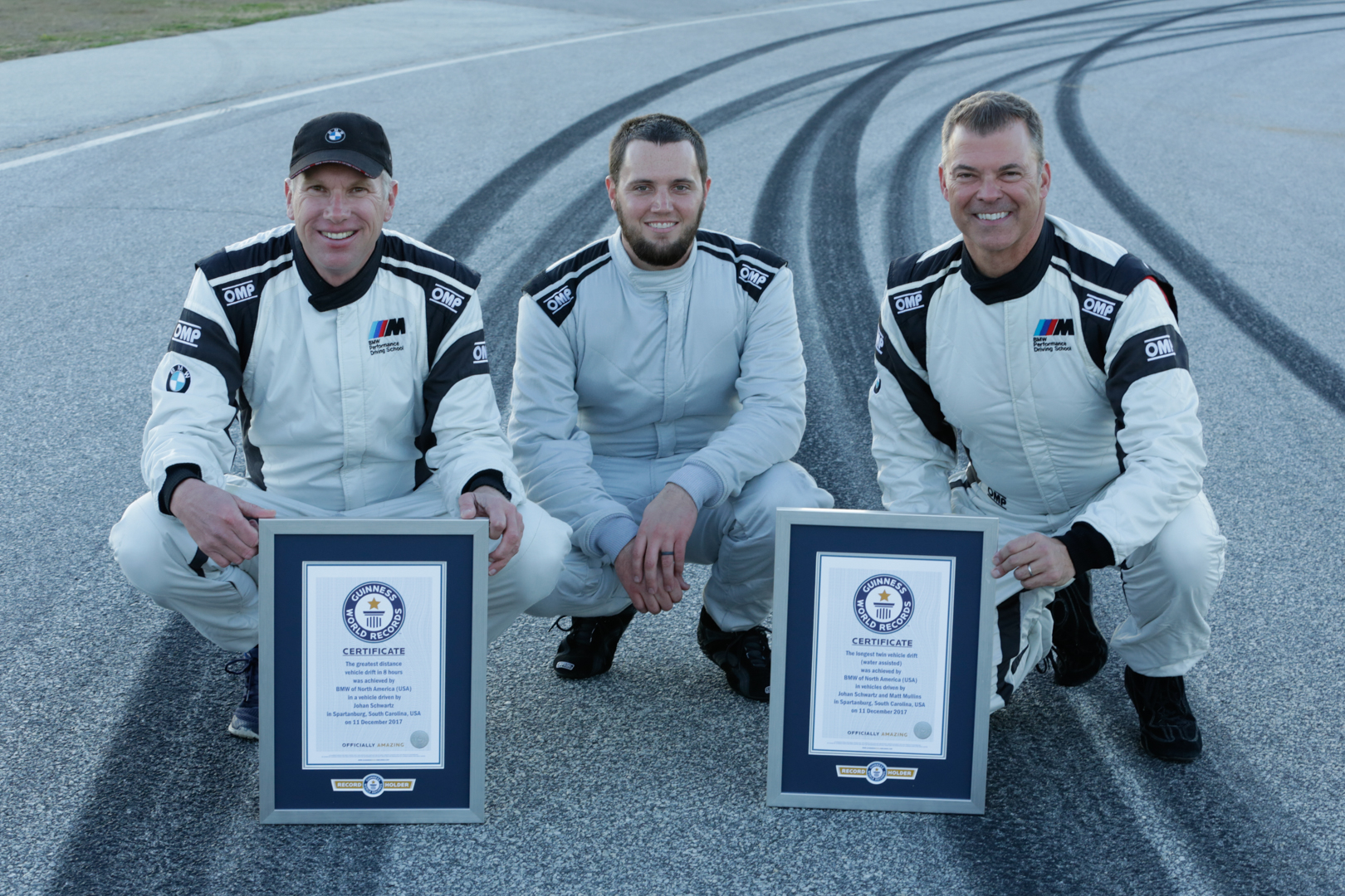 Bmw Sets Two Guinness World Records For Drifting With The