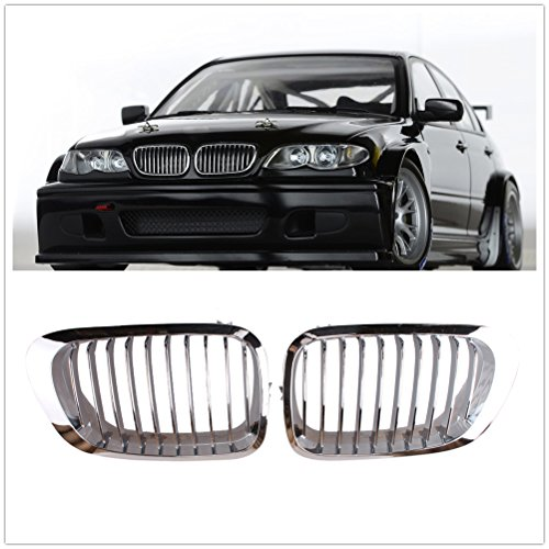 Heart Horse Front Kidney Grill Fit 1999 2001 Bmw 3 Series E46 M3 323 I Is 325ci 328 Ci 330ci 2 Doors Grilles