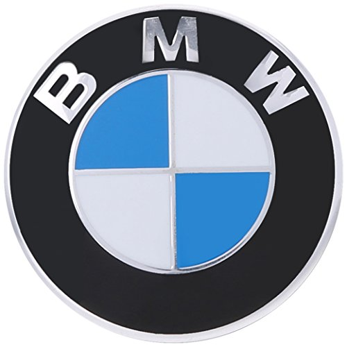 BMW Genuine Hood Roundel Emblem 82 mm for All Model Except Z4 Fits Most Trunk See Description
