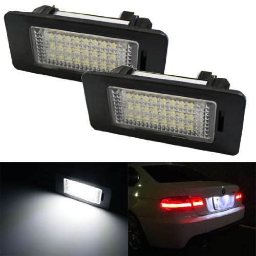 iJDMTOY 24-SMD Error Free LED License Plate Light Lamps For BMW 1 2 3 4 5 Series X3 X4 X5 X6