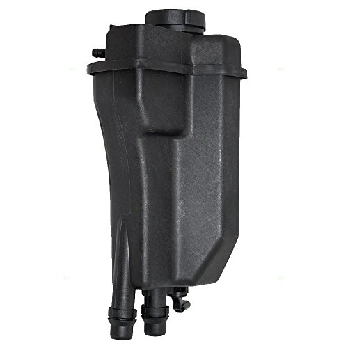 Coolant Overflow Tank Recovery Expansion Bottle Reservoir with Sensor and Cap Replacement for BMW 17111742231