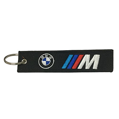 1pcs Tag Keychain For BMW M Power Car Keychain Accessories Sporty Gifts