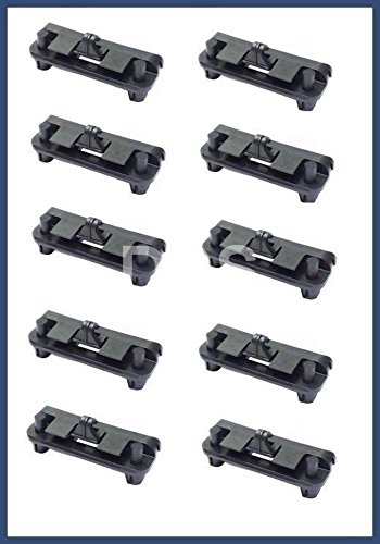 BMW e30 (87-93) Front Spoiler retaining CLIPs (set 10) retainer fastener clamps