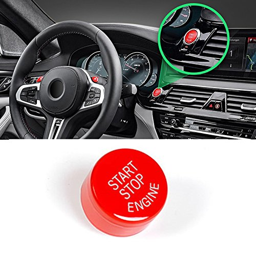 Sports Red Start Stop Engine Switch Button For BMW,Jaronx