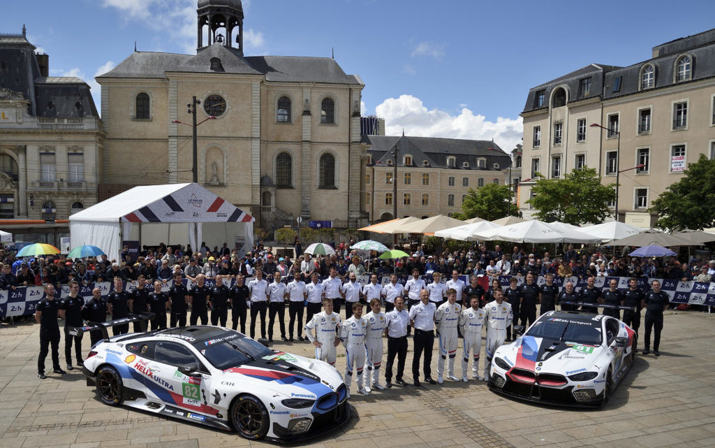 BMW M8 GTE Heading for Le Mans, Final WEC Race