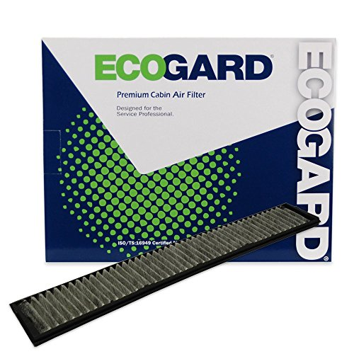 ECOGARD XC15510C Cabin Air Filter with Activated Carbon Odor Eliminator – Premium Replacement Fits BMW 3-Series