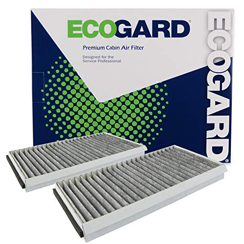 ECOGARD XC26078C Cabin Air Filter with Activated Carbon Odor Eliminator – Premium Replacement Fits BMW 5-Series, 6-Series