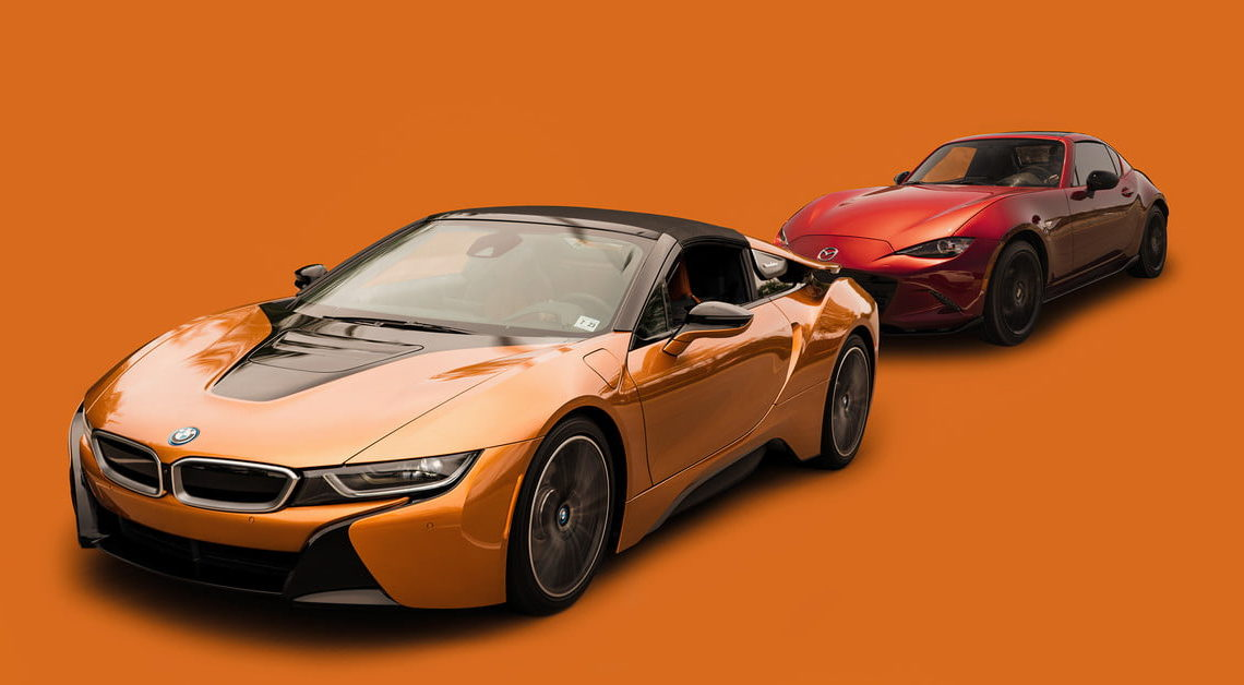 The BMW i8 Roadster is The Best Miata on Earth