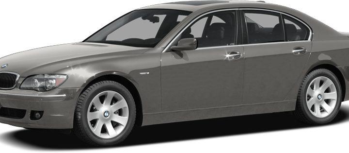 2007 BMW 7 Series 750i Marion IL 31444955