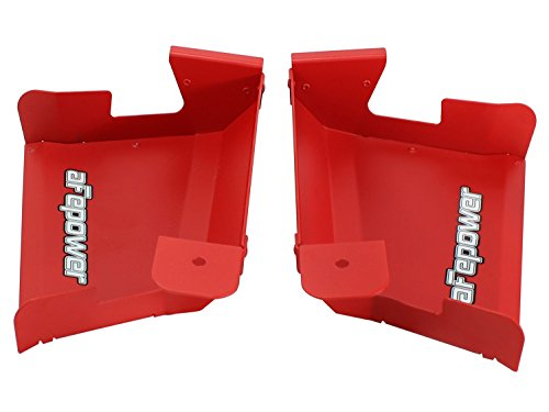 aFe Power Magnum FORCE 54-11478-R BMW 3-Series (E9x) Intake System Scoops (Matte Red)