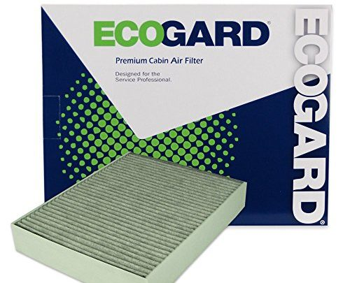 ECOGARD XC10010C Cabin Air Filter with Activated Carbon Odor Eliminator – Premium Replacement Fits BMW 3-Series, 4-Series
