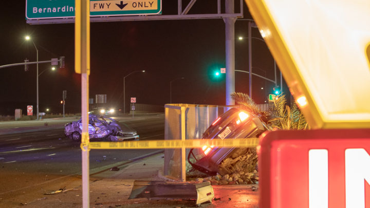1 killed, 1 airlifted in Saturday night crash on Main Street in Hesperia – Victor Valley News Group