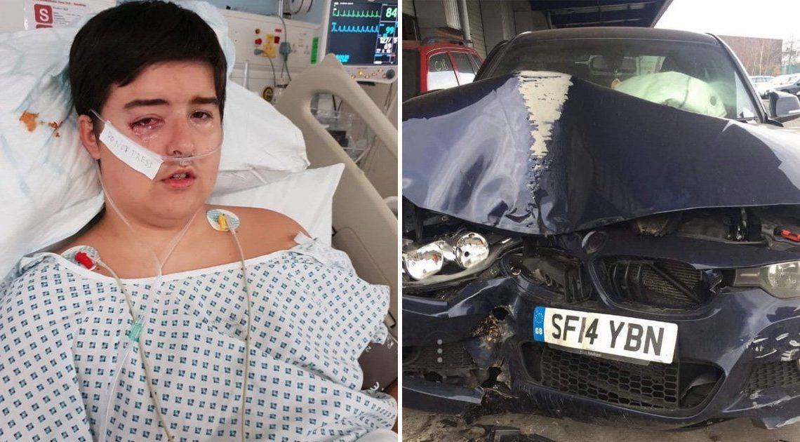Boy, 14, 'minutes away from death' saved when BMW automatically dialled 999