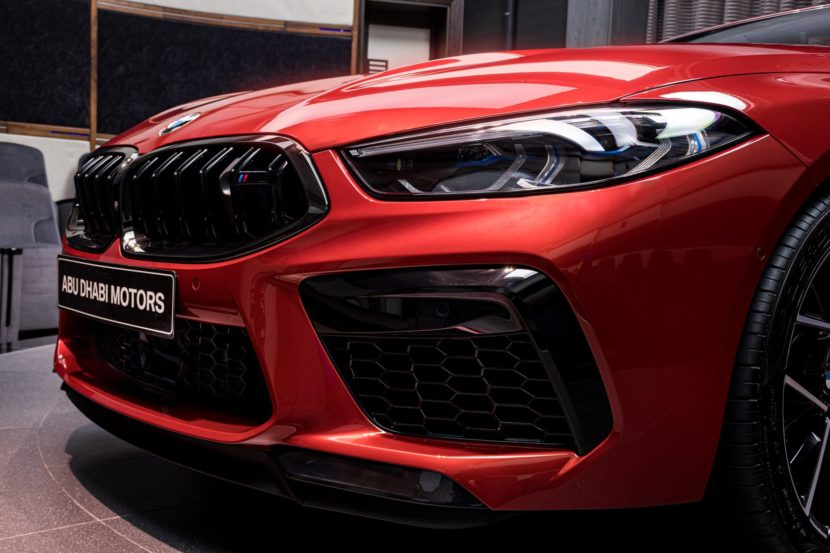 BMW M8 Competition Convertible F91 in Motegi Red 12 830x553