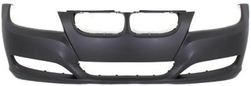 Crash Parts Plus Primed Front Bumper Cover Replacement for 2009-2011 BMW 3 Series