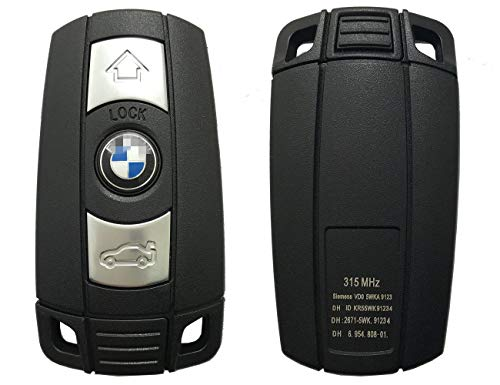 Keyless Entry Remote Control Car Key Fob Case for BMW 3 5 Series BMW X5 BMW X6 BMW Z4 Replacement Key Cover