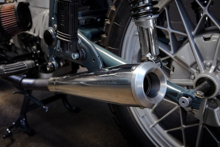Custom BMW R100RT Exhaust