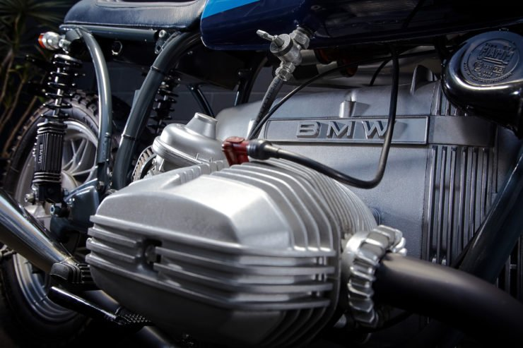 Custom BMW R100RT Head