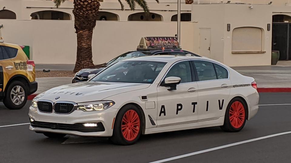 """Aptiv """"Self-Driving Vehicles"""" Top 100,000 Rides In Las Vegas"""
