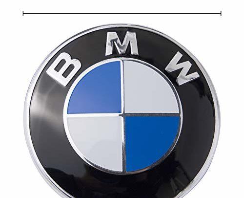 Emblem Logo Replacement for ALL Models BMW Hood/Trunk E30 E36 E34 E60 E65 E38 X3 X5 X6 3 4 5 6 7 8 (82mm)