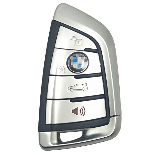 Horande Replacement Keyless Entry Remote Control Key Fob Case for BMW X1 X3 X5 X6 X7 Key Shell No Chip
