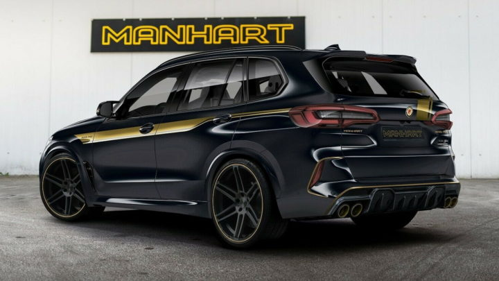 Manhart Will Sell You A Tuned BMW X5 M For Bentayga Money