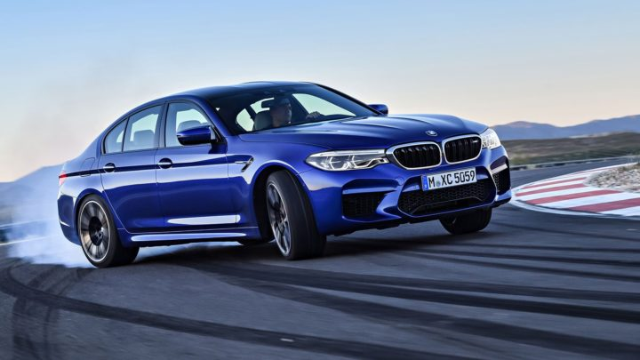 Report: BMW has a 1,006-horsepower, all-electric M5 in the works