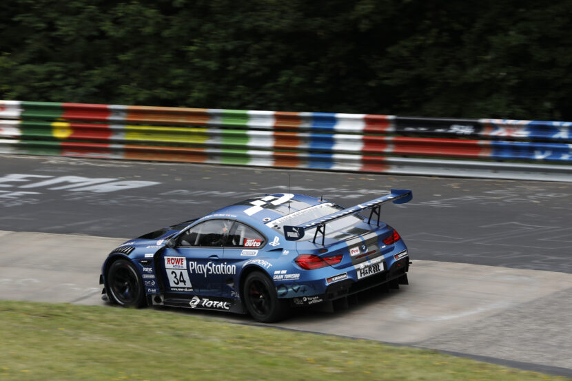 BMW makes triumphant return to real-life racing on Nurburgring