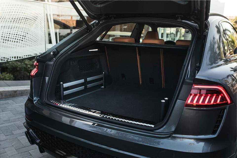 A large luggage area makes it practical in day to day life.