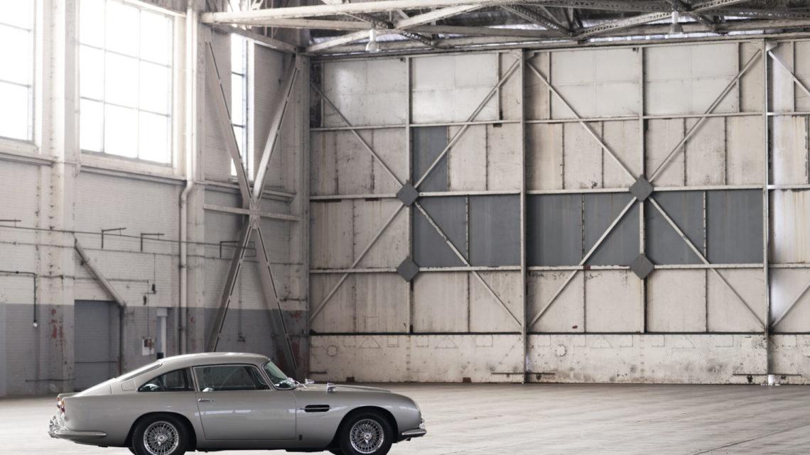 Listen to the Glorious E46 M3-Power Aston Martin DB5 Stunt Car
