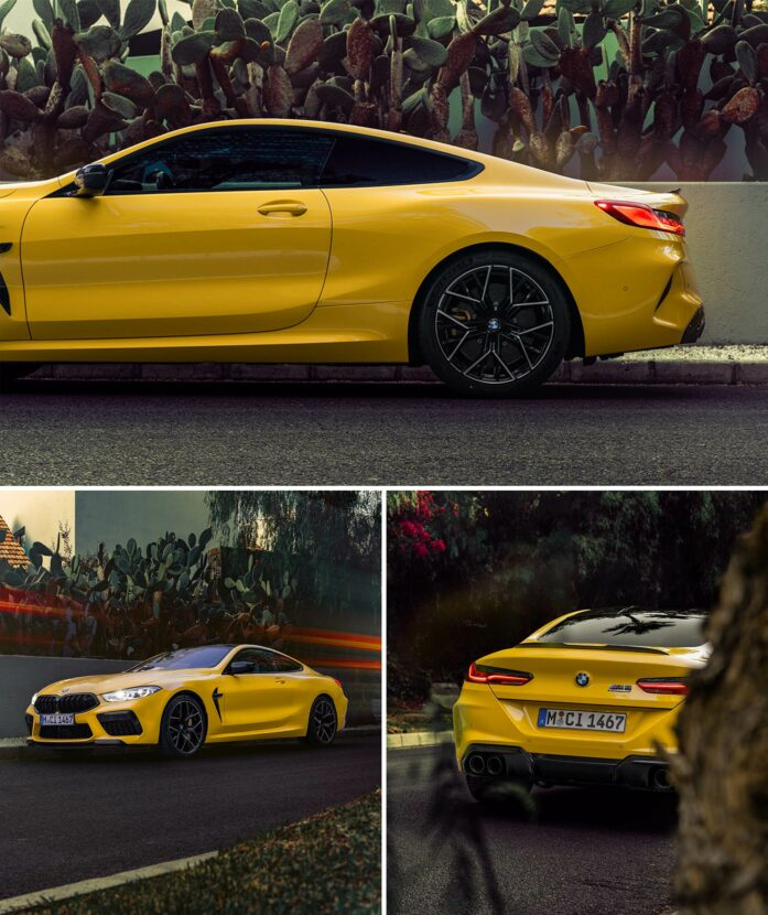 bmw m8 competition coupe speedyellow 697x830