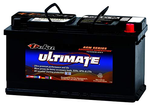 Deka 9AGM49 AGM Intimidator Battery