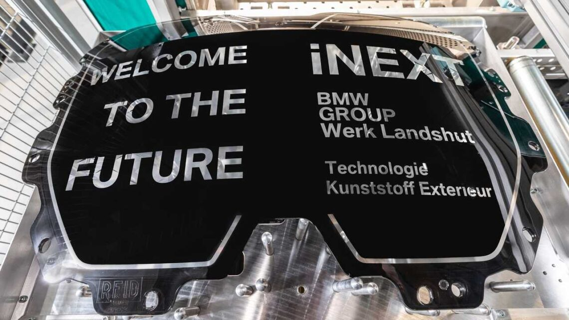 BMW Landshut Plant Starts Production Of Components For iNEXT