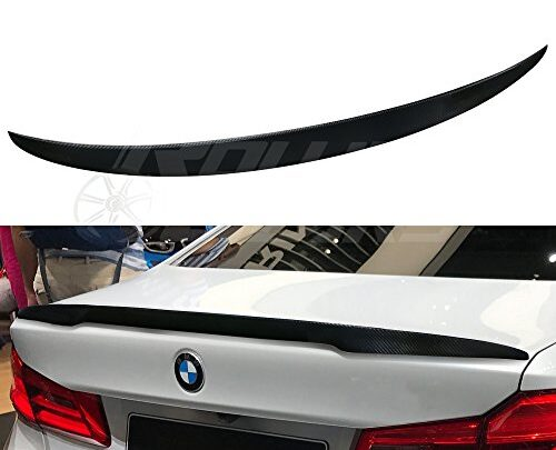 R.G Performance G30 Carbon Fiber Trunk Spoiler Fits BMW 5-Series G30 Sedan 2017-2019 (P Style)