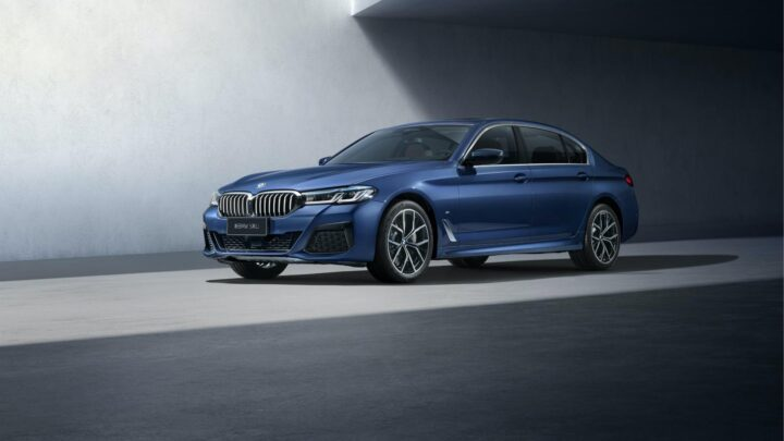 2021 BMW 5 Series Facelift with long wheelbase launching in China