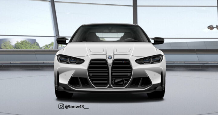 G80 BMW M3 Rendered with A Twist At The Front End