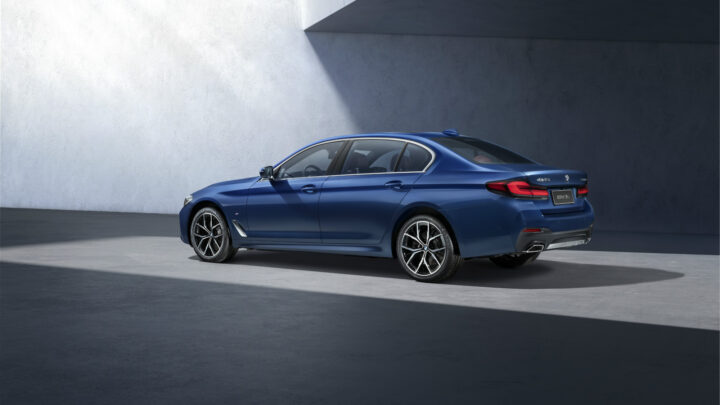 2021 BMW 5-Series Lands In China With Long Wheelbase And More Luxury