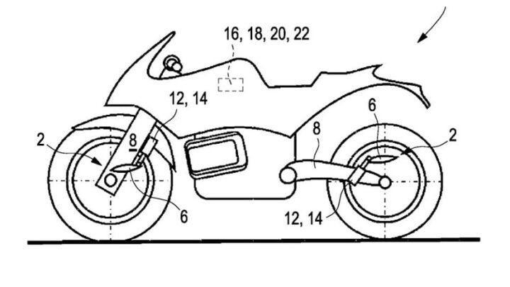 BMW Motorrad Patents Reveal Active Aerodynamics