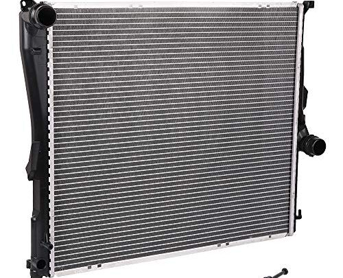 OCPTY Aluminum Radiator Replacement fit for 2771 2004-2006 BMW X3 CU2771,17113400013