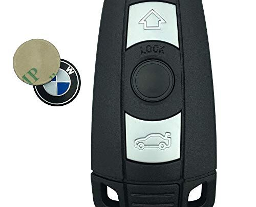 Replacement Keyless Entry Remote Control Key Fob Case Shell for BMW 1 3 5 6 7 Series BMW E93 BMW E92 BMW E90 Key Fob Cover