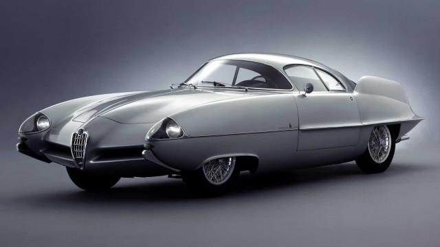 All 3 Alfa Romeo Berlina Aerodinamica Tecnica concepts by Bertone head to auction