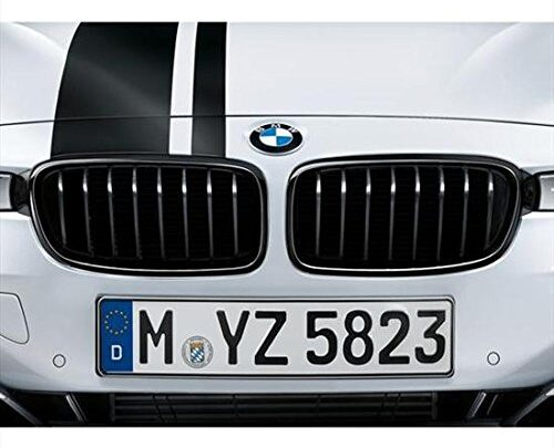 BMW 51712240778 M Performance Gloss Black Kidney Grille for F30/F31 3 Series