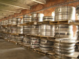 Coker has an inventory of tire molds, some quite old, others created using original blueprints