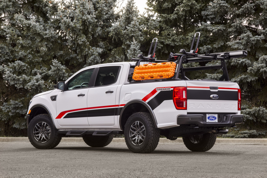 Ford Ranger XLT Tremor SuperCrew by Ford Accessories and Ford Performance Parts