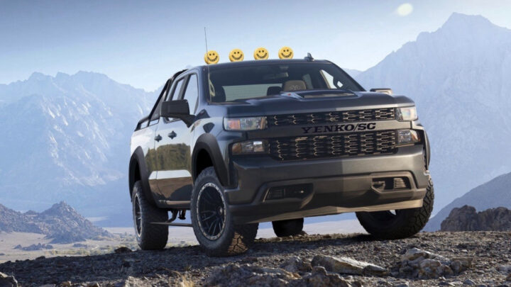 2021 Yenko/SC Silverado Off-Road is a lifted, 800-hp off-roader
