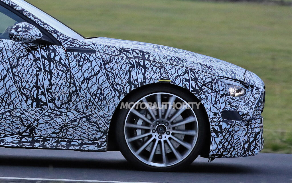 2022 Mercedes-AMG C53 spy shots: C43's replacement spotted
