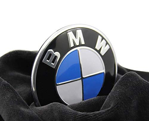 BMW Emblem Logo Replacement for Hood/Trunk 82mm for ALL Models BMW E30 E36 E34 E60 E65 E38 X3 X5 X6 3 4 5 6 7