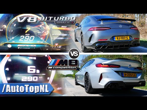 BMW M8 Gran Coupe vs. AMG GT 63 S Sound Battle Has Predictable Winner