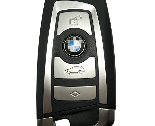 Horande Replacement Key Fob Case fit for BMW 1 3 4 5 6 7 F Series X3 X4 X5 X6 M5 Entry Remote Control Key Fob Shell Cover