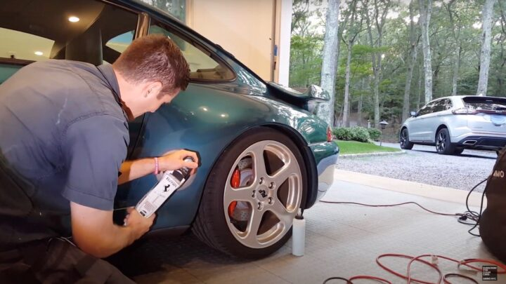 How to polish a clear bra on your car